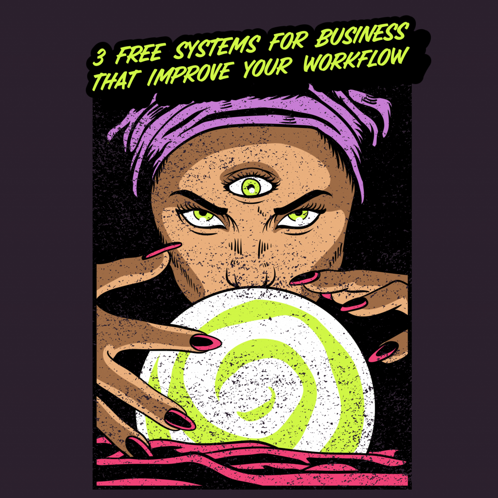 Systems for Business vintage comic