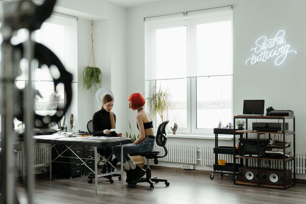 tattoo artist websites professional shop photo example