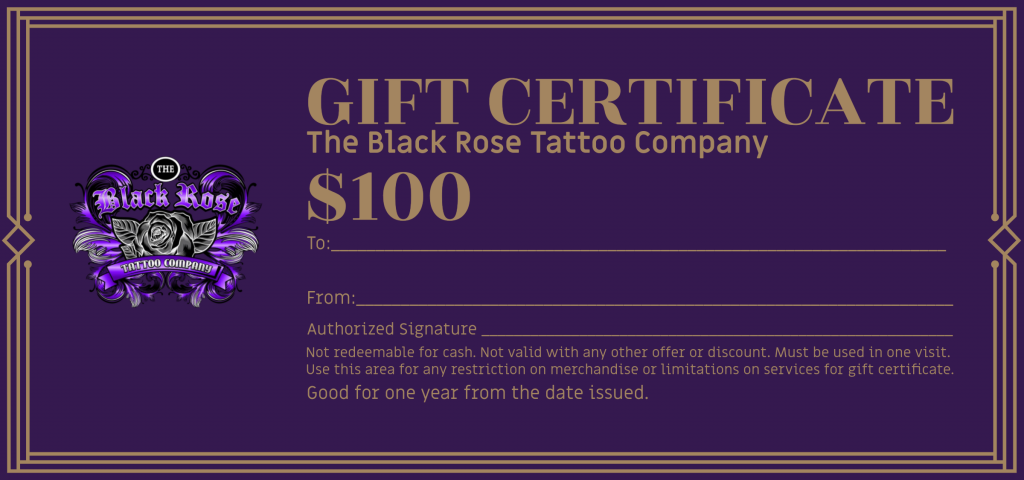 tattoo shop promotion ideas coupon