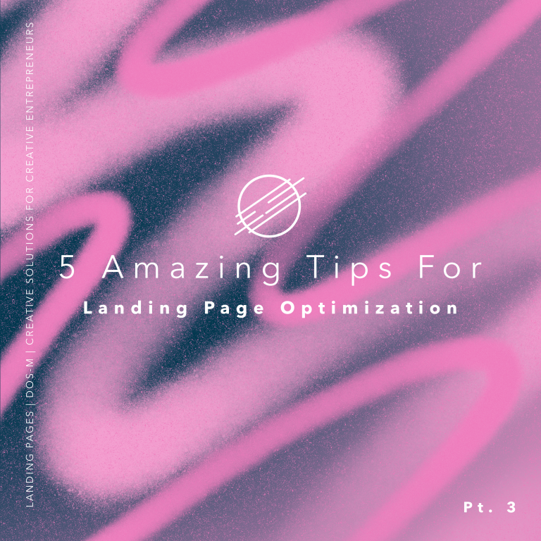 5 amazing tips for landing page optimization graphic