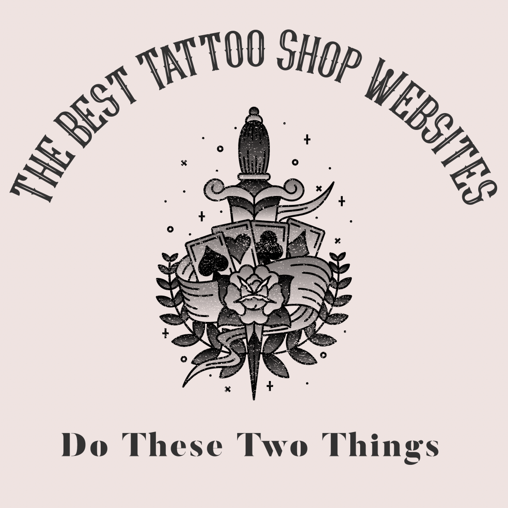 the best tattoo shop websites do these two things